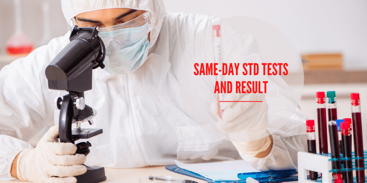 Same-day STD Tests and Result